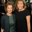 22 Jeri Shapiro, left, and Polly Bowden at the Guardian luncheon November 2013