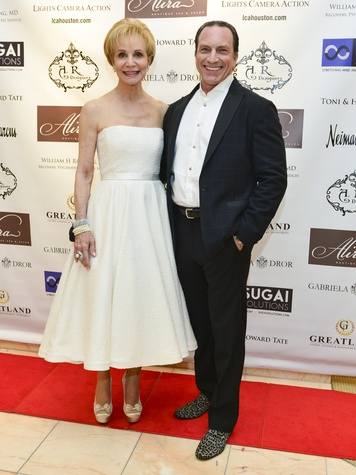 7 Leisa Holland-Nelson and Robert Davenport at the International Mother's Day Soiree May 2014