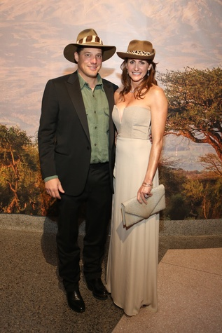 News, Shelby, Museum of Natural Science gala, March 2015 Corby Robertson, Brooke Robertson
