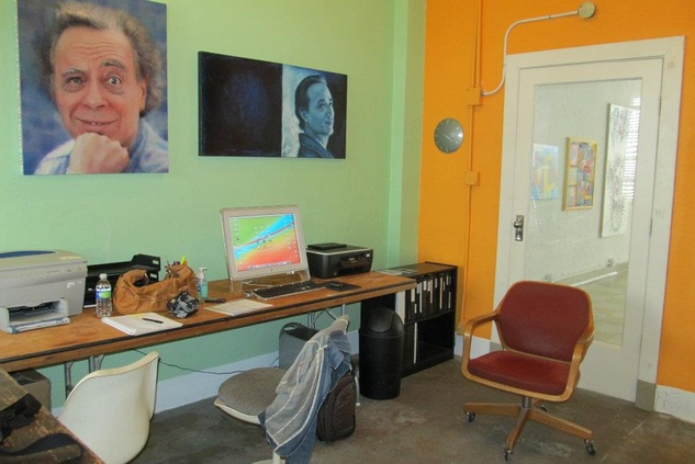 New Gallery office Milam