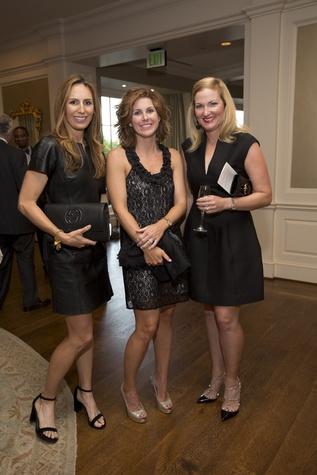 Brooke Bentley Gunst, Haley Webster, Natalie Synnott at Chinquapin Flashback 75 Gala