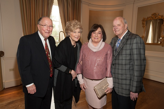 12 John and Marsha Berryman, from left, and Rose and Harry Cullen at the HARC Luncheon March 2015