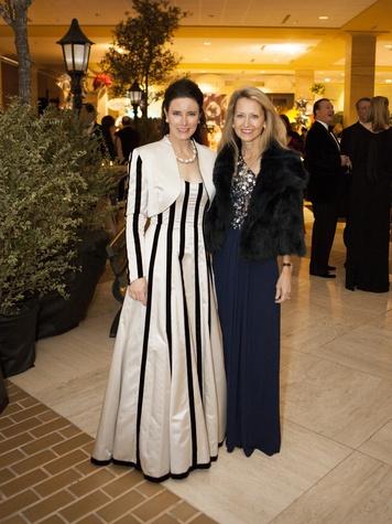 Lynn McBee, Michelle Lockhart, Crystal Charity Ball 2013, Hilton Anatole