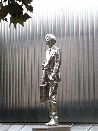 Andy Warhol statue, Contemporary Arts Museum Houston