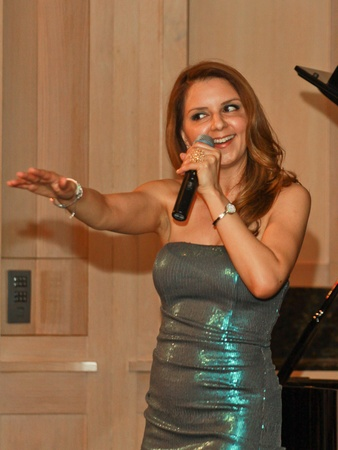 HGO, Singing with the Houston Idols, September 2012, Sallymoon Bentz