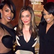 Tina Knowles 60th birthday party in New Orleans January 2014 Destiny's Child star Kelly Rowland, left, and Monica, right