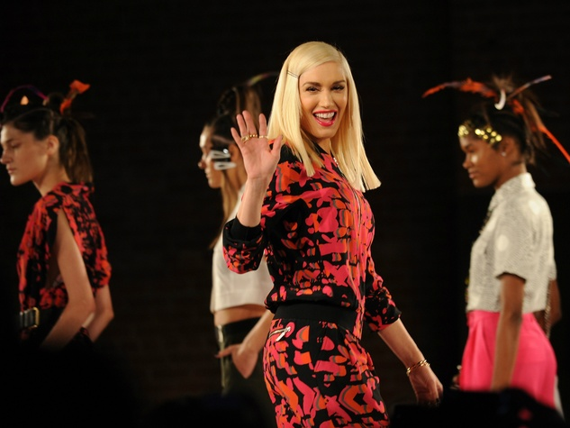 Gwen Stefani and LAMB spring 2015 collection