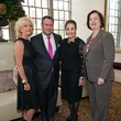 Chree Boydstun, from left, Bryan Hvalinka, Martha Turner and Katy Caldwell at the Legacy Luncheon September 2014