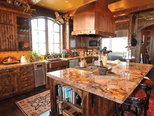Timber Creek Ranch kitchen