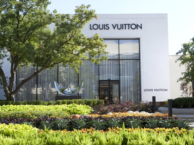 Exterior of Louis Vuitton at NorthPark Center in Dallas
