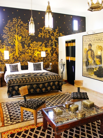 travel photos by Laurier Blanc June 2014 Marrakech Room