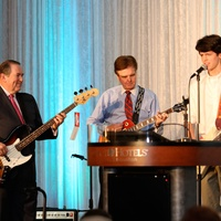 Mike Huckabee, from left, Dan Patrick, and John Henry Thompson at the LifeHouse fundraiser October 2013