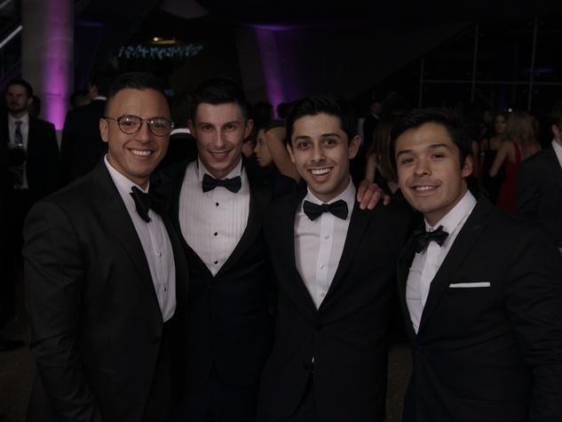 Jesus Aguilar, Cam Allison, John Paul Turnham, Moises Madrid, Millennial Gala 2017