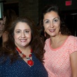 25 Sonia Soto, left, and Debbie Elias the Holly Rose Ribbon Shades of Roses kick off party July 2014