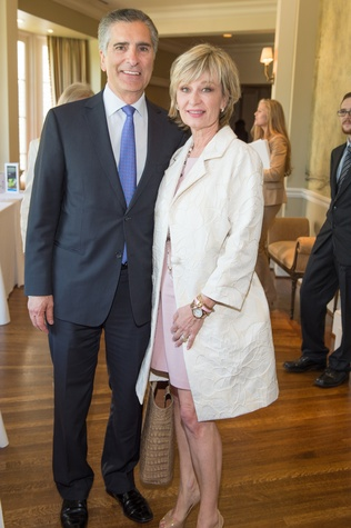 Houston, I Am Waters Luncheon_May 2015, Giorgio and Cathy Borlenghi