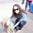 Julia Giordano at Friends for Life Texans TAILgate party November 2013
