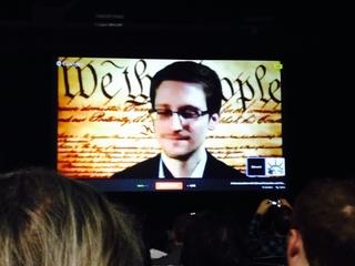 Edward Snowden SXSW Interactive 2014