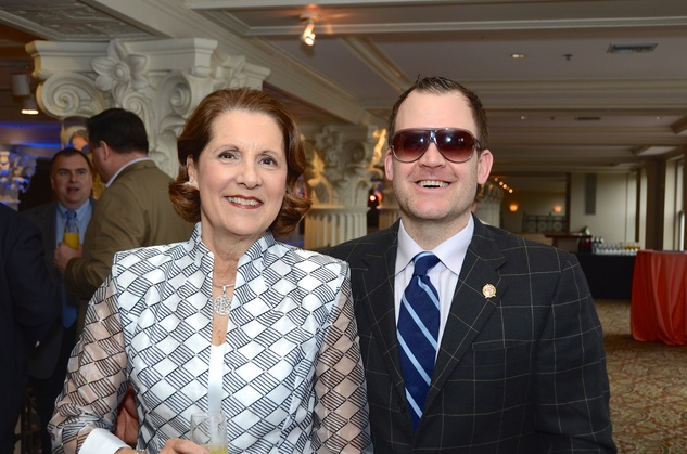 16 Judy Lindsay and John Ross Palmer at the Victory Brunch March 2015