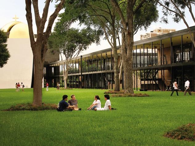 University of St. Thomas, academic mall, chapel