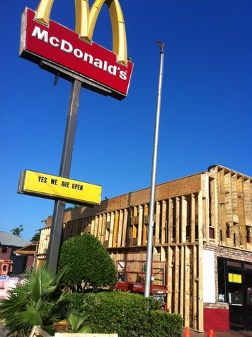 McDonald's Construction on Westheimer