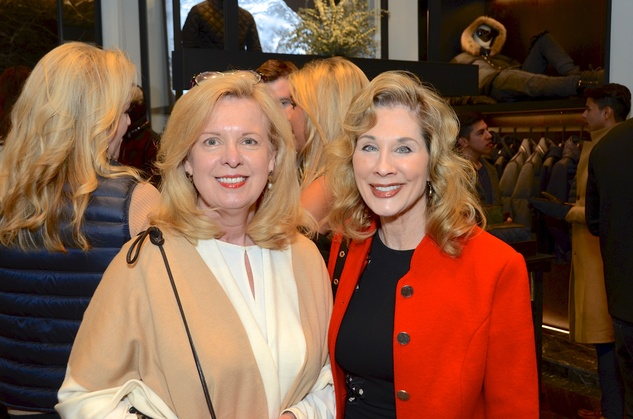 News, Moncler opening, Dec. 2015, Cinthia Dicaro, Jaime Williams