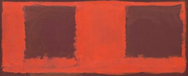 Mark Rothko Retrospective: Untitled (Seagram Mural sketch)