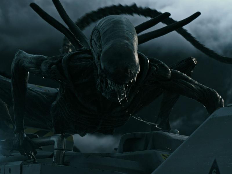 Alien in Alien: Covenant