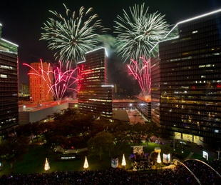 30th Annual Uptown Houston Holiday Lighting