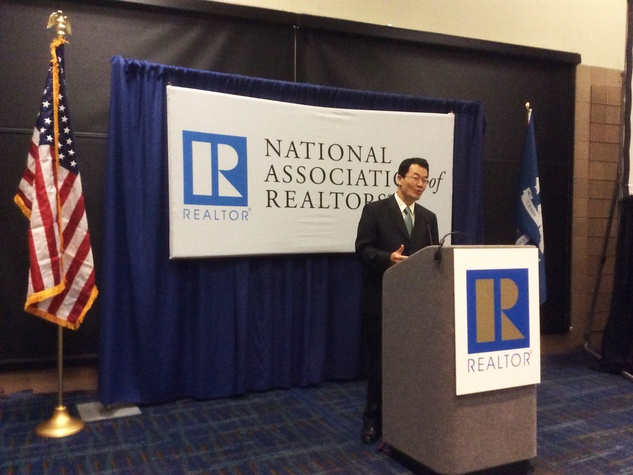 Lawrence Yun, chief economist for the National Association of Realtors, says Houston realty will outperform the nation in 2015
