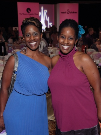 March of Dimes, Labor Day event, August 2012, Toni Walton, Brandi Brown