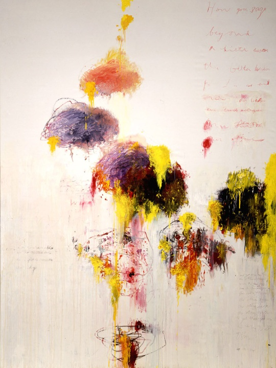 cy twombly essay As simon schama has observed, 'twombly's creative energy erupts, turning out an extended series of untitled compositions in which pictograms and ideogramsswim.