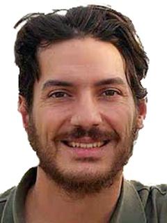 Austin Tice, journalist, head shot