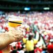beer, football game