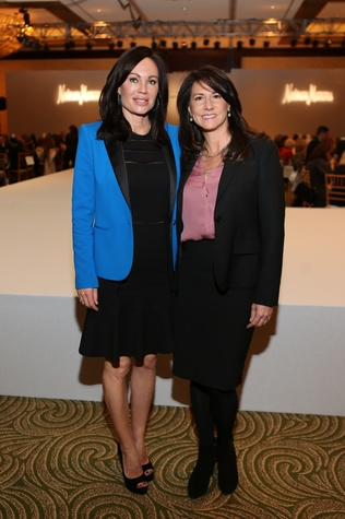 Brandi Maxwell, left, and Kay Championmont at the Angels of Hope luncheon December 2014