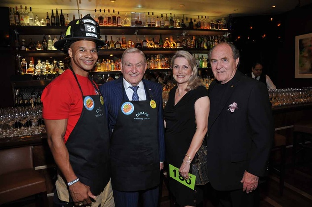 Houston, News, Shelby, Escape Celebrity Serve Benefit, April 2015, Sedrick Robinett, Dave Ward, Katherine and Bill Peery
