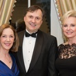 Nancy and Walt Bratic, from left, with Jane-Page Crump at the Preservation Houston Cornerstone Dinner February 2014