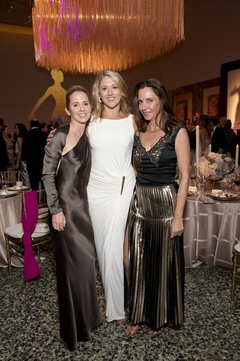 Martha Long, Amy Purvis, Aliyya Stude at Museum of Fine Arts Grand Gala Ball