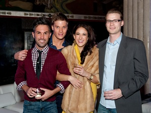Will Fisher, Brad Pritchett, Jennifer Pompa, Jesse Koch