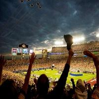 Super Bowl, football game, crowd, fans, stadium