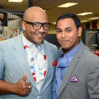 185 Vincent Powell and Clint Sosa at the Red Carpet Soiree November 2014