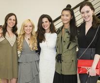 Laura Reeder, Vodi Cook, Chela Moros, Annie Wang, Kay Weir