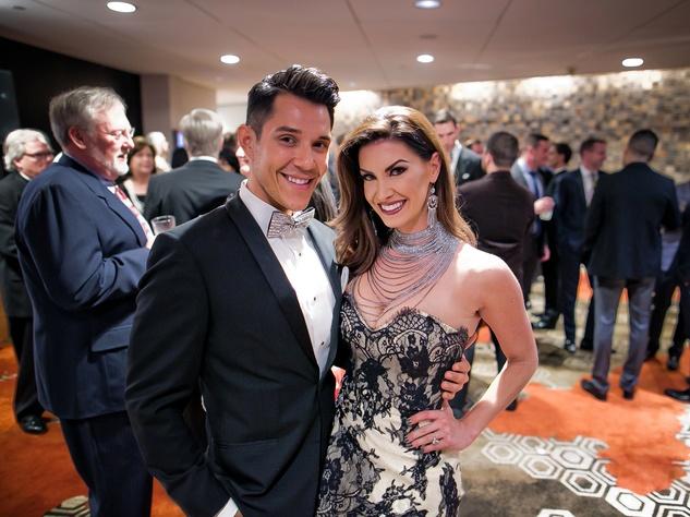 Houston, Sing for Hope gala, Nov. 2016, Adrian Perez, Nicole O'Brian Lassiter