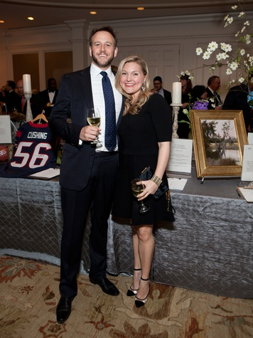 Fredrik and Amanda Mack at the SIRE Under the Stars event April 2014