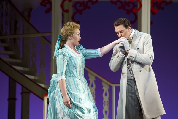 Houston Grand Opera, Showboat, January 2013, Magnolia (Sasha Cooke) and Gaylord (Joseph Kaiser)