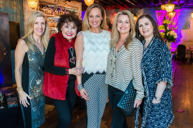Houston Sweethearts, Feb. 2016, Michelle Smith, Warner Roberts, Rachel Regan, Millette Sherman, Sylvia Forsythe