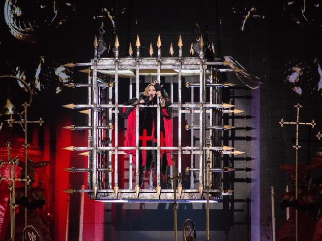 Madonna Rebel Heart Tour concert