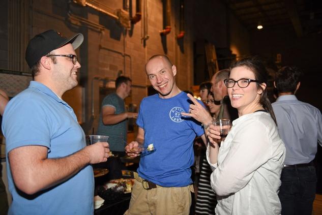 Houston, News, Shelby, Alley Theatre Scene Event, May 2015, Brian Blonn, Robert Luckay, Molly Blonn