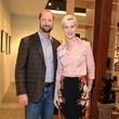 17 Brian Hoskins and Leslie Holloway at the HeartGift photo exhibition May 2014