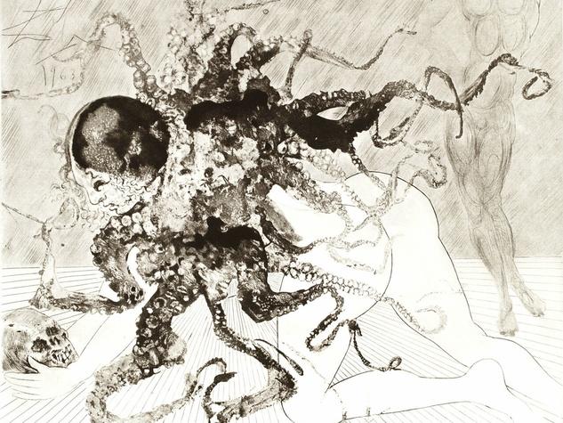 Salvador Dali Medusa