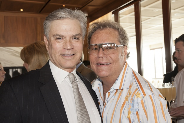 Nixon Wheat, left, and Bubba McNeely at Neal Hamil's birthday party November 2014